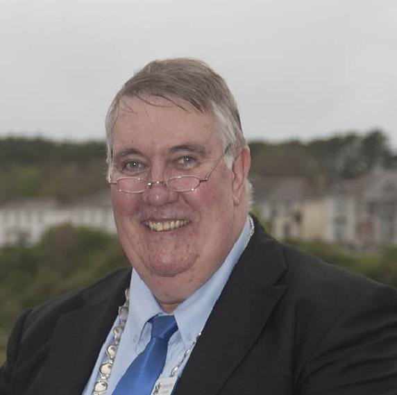 Graham Coad, mayor of Hayle